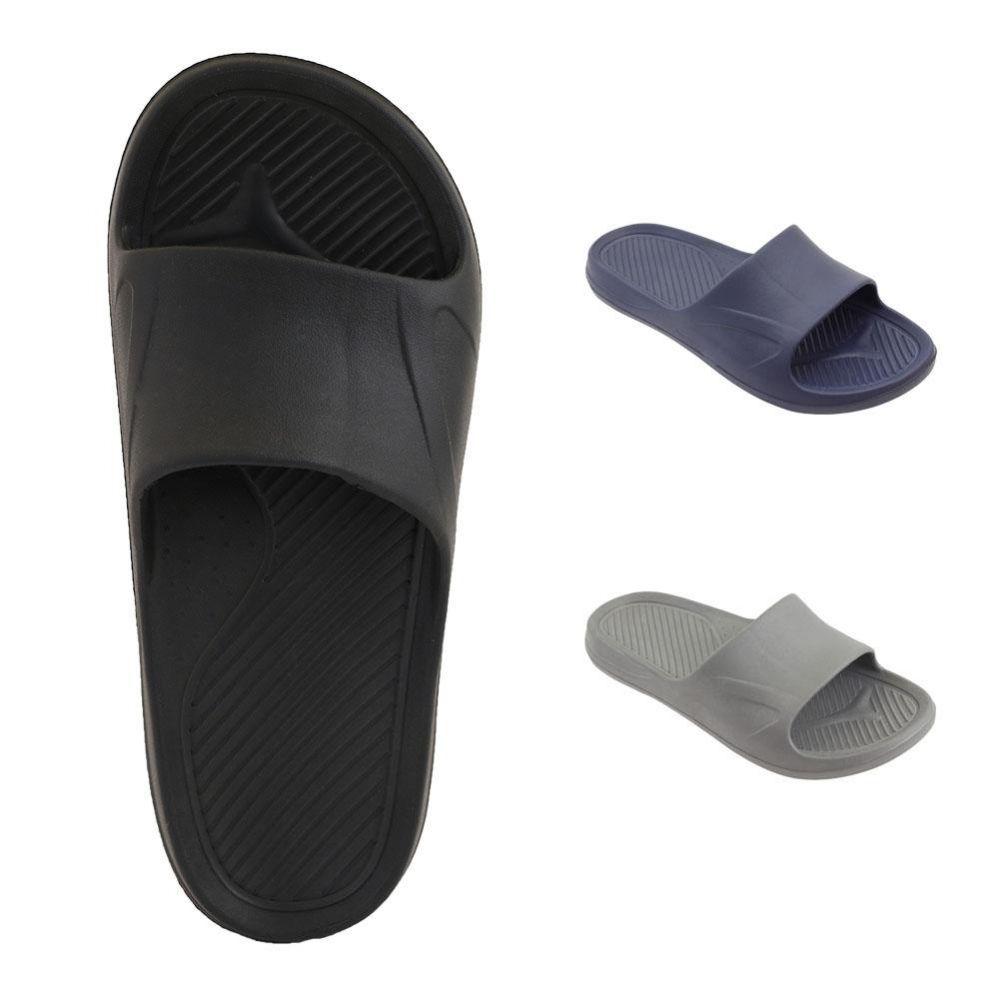 Wholesale Footwear Mens Shower Slides Assorted Color