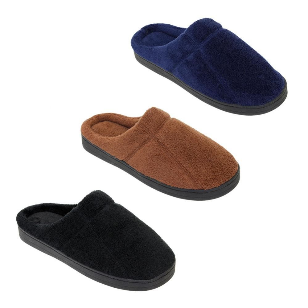 Wholesale Footwear Mens Classic Slip On Winter Slippers
