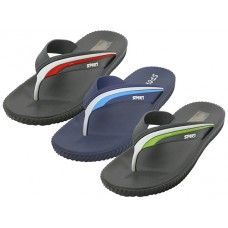 "Wholesale Footwear Men's ""Real"" Soft Comfortable Sport Thong Sandal"