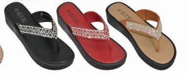 Wholesale Footwear Womens T Strap Flat Sandals Open Toe Rhinestone Thong Flip Flops Sandal