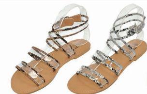 Wholesale Footwear Womens Lucite Rhinestone Crystal Jelly Sandal Jelly Thong Flip Flip