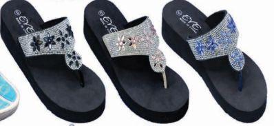 Wholesale Footwear Womens Casual Summer Wedge Sandal