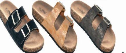 Wholesale Footwear Womens Comfort Slide Sandal