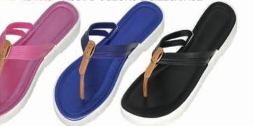 Wholesale Footwear Womens Flip Flops Sandal With Buckle
