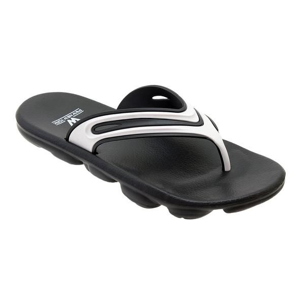 Wholesale Footwear Mens Sport Sandals In Black And White