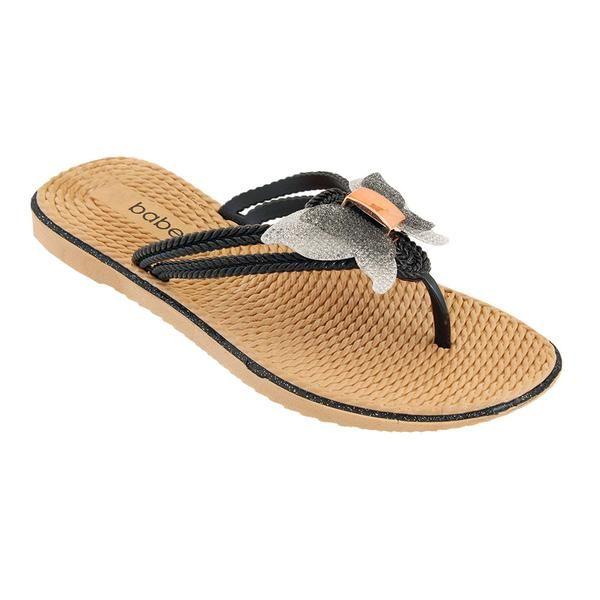 Wholesale Footwear Women's Butterfly Sandals In Black