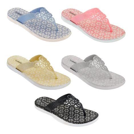 Wholesale Footwear Women's Glitter Sandals In Assorted Color
