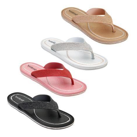 Wholesale Footwear Women's Glitter Flip Flop In Assorted Color