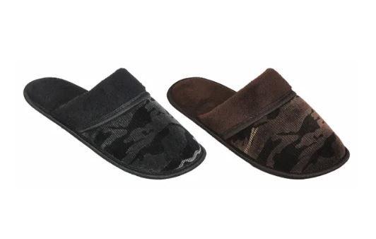 Wholesale Footwear Bulk Men Slippers Camo