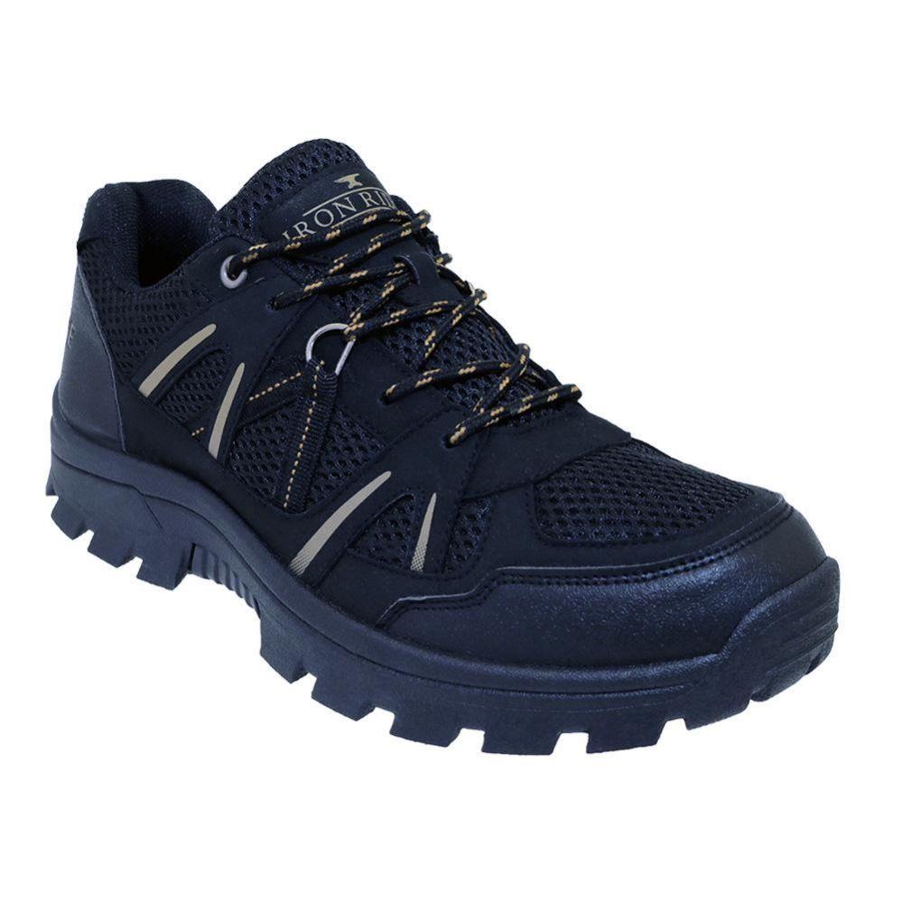 Wholesale Footwear Men's Lightweight Hiking Boots In Black