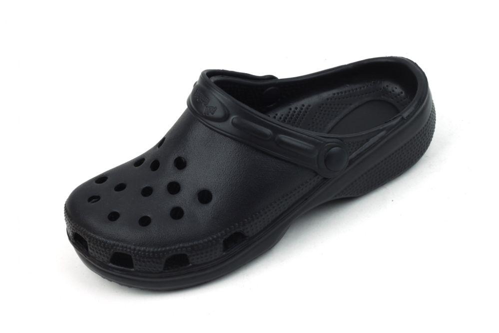 Wholesale Footwear Women Garden Shoes Black