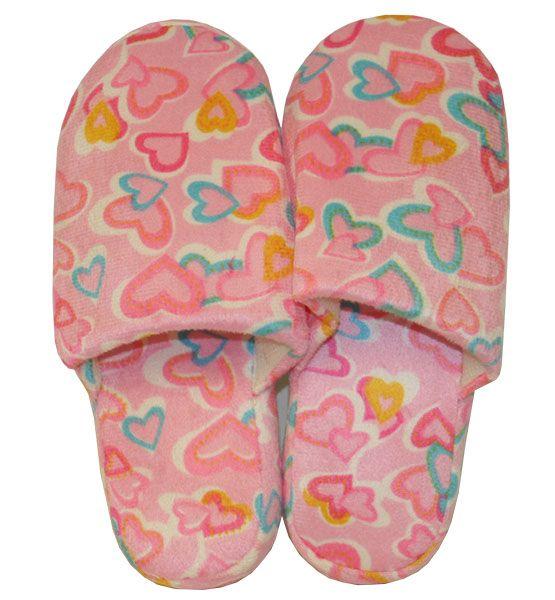 Wholesale Footwear Women's Heart Winter Slipper