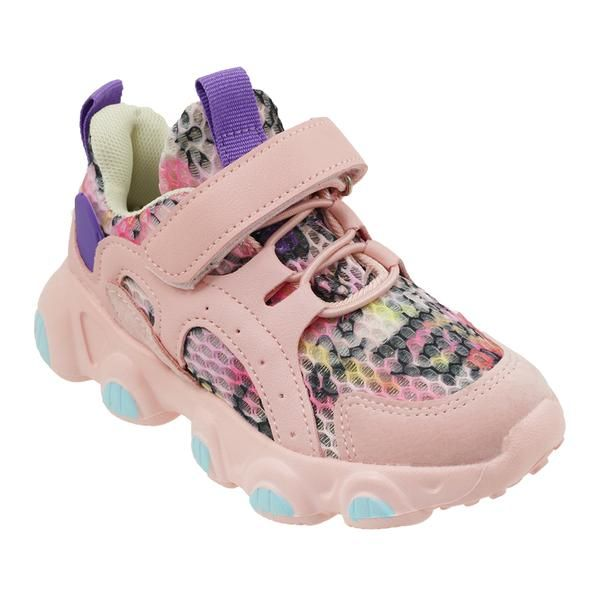 Wholesale Footwear Girls Sneakers Casual Sports Shoes In Blush
