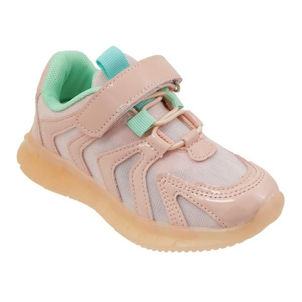 Wholesale Footwear Girls Sneakers Casual Sports Shoes In Rose Gold
