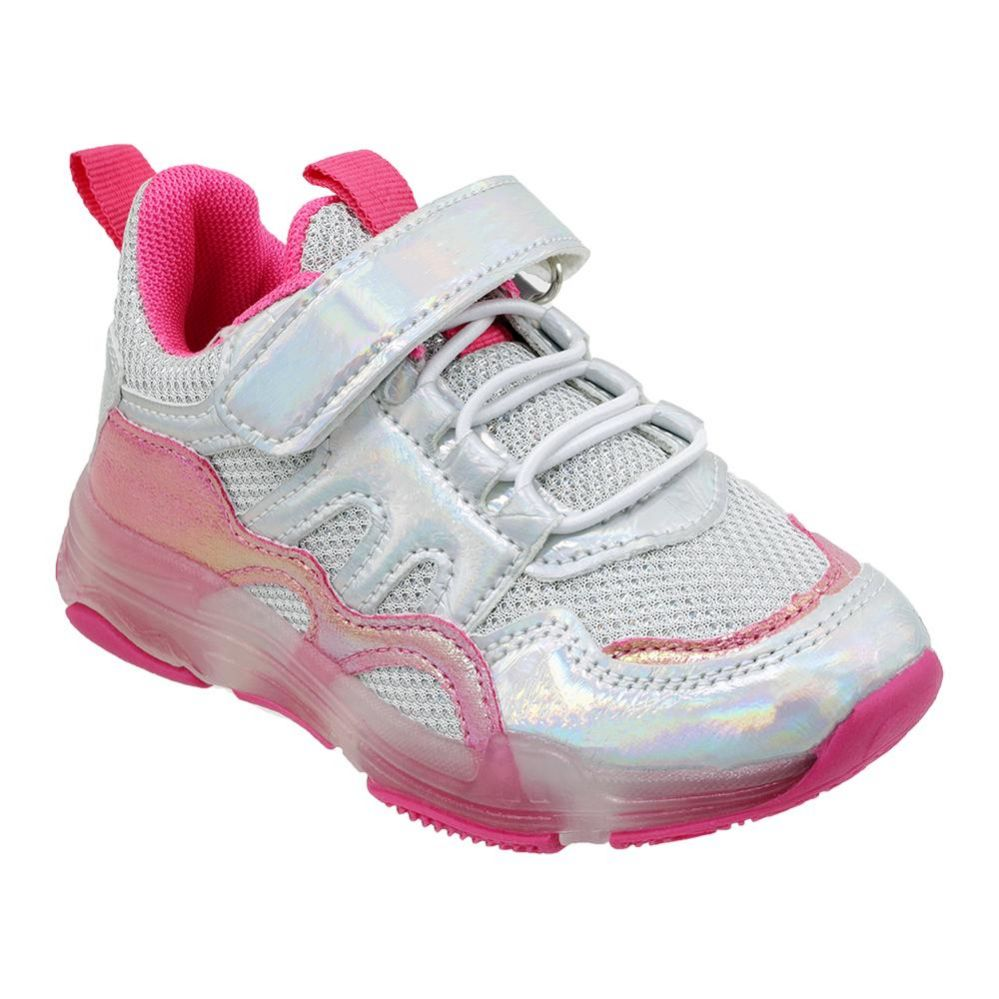 Wholesale Footwear Girls Sneakers Casual Sports Shoes In Pink