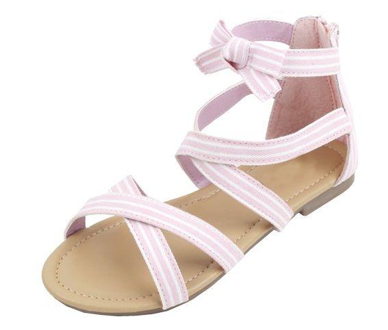 Wholesale Footwear Kid's Fashion Sandals In Pink