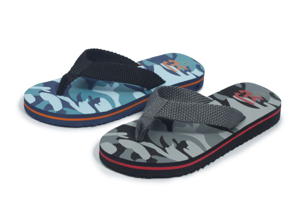 Wholesale Footwear Boys Fashion Sandals Camo