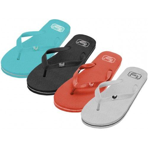Wholesale Footwear Women's Rubber Zori Flip Flops