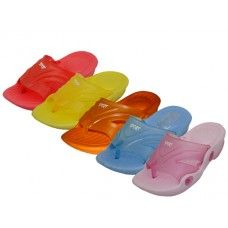 Wholesale Footwear Toddler's Squeaky Flip Flop Sandals