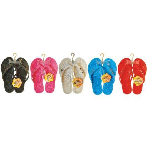 Wholesale Footwear Ladies Flip Flop With Stones