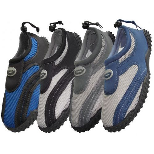 Wholesale Footwear Men's Wave Aquasocks Size 9-13