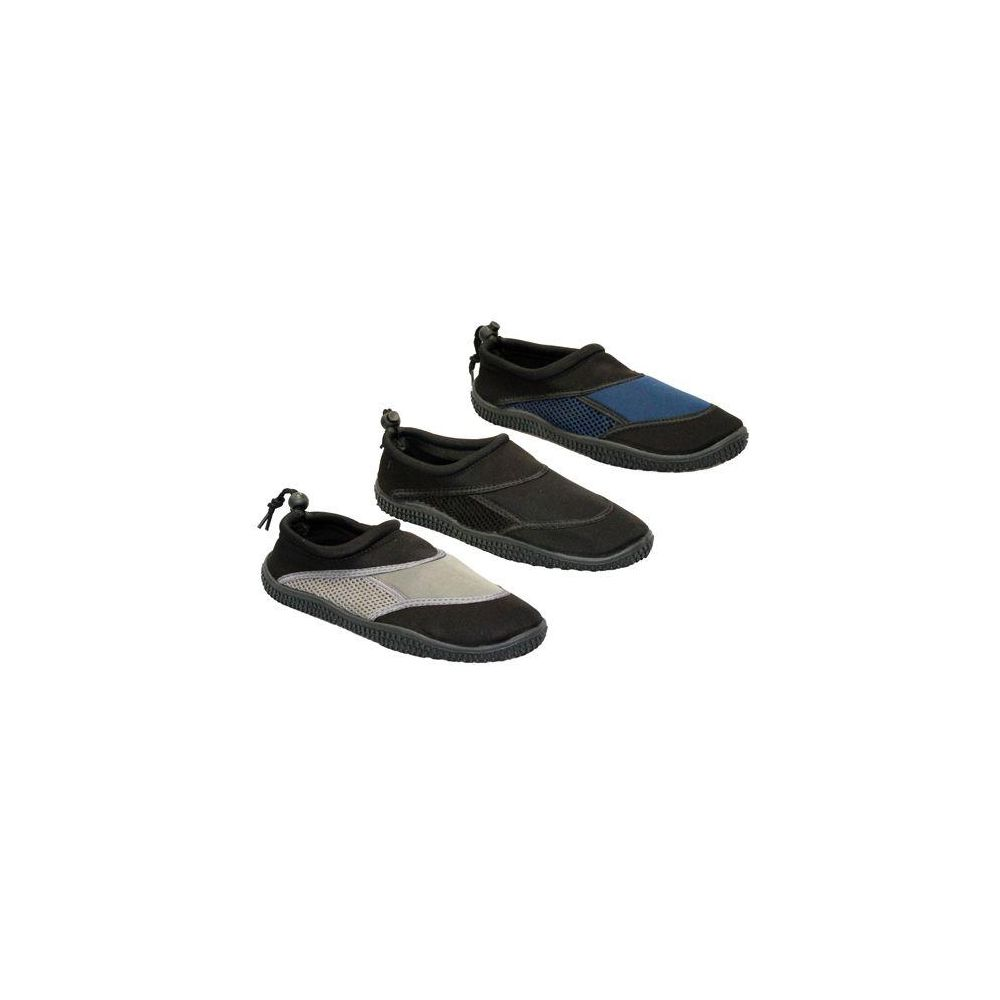 Wholesale Footwear MENS WATER SHOES BLCK, NAVY, TAUPE SIZE 7 - 12