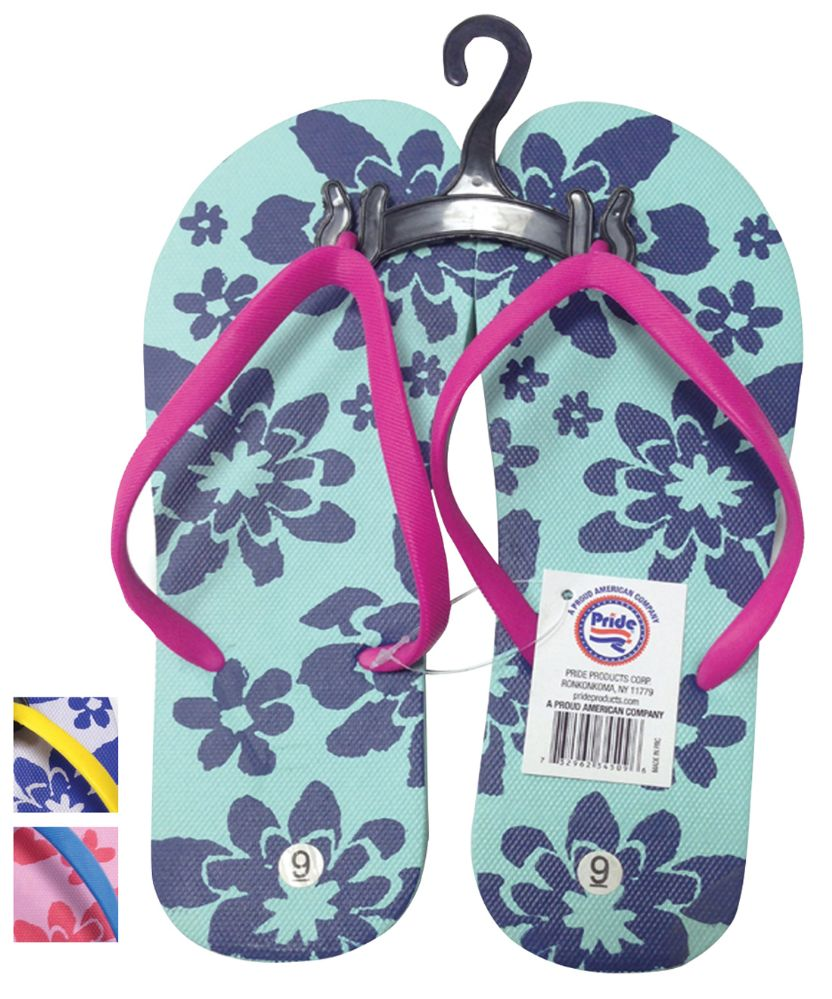 202c3e3c68ecf Wholesale Footwear LADIES FLIP FLOP FLOWERS ASSORTED SIZES 5-10 AND COLORS
