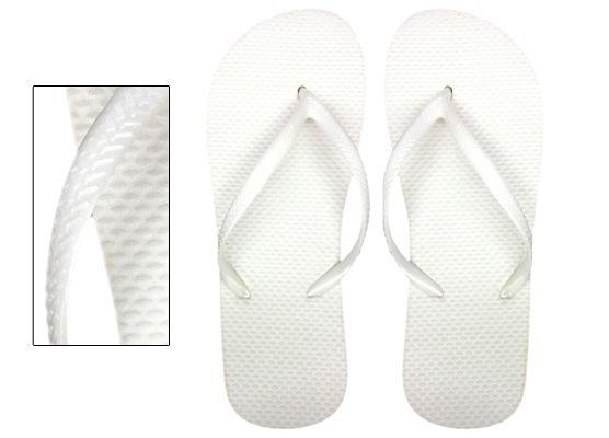 Wholesale Footwear Womens White Wedding Flip Flops