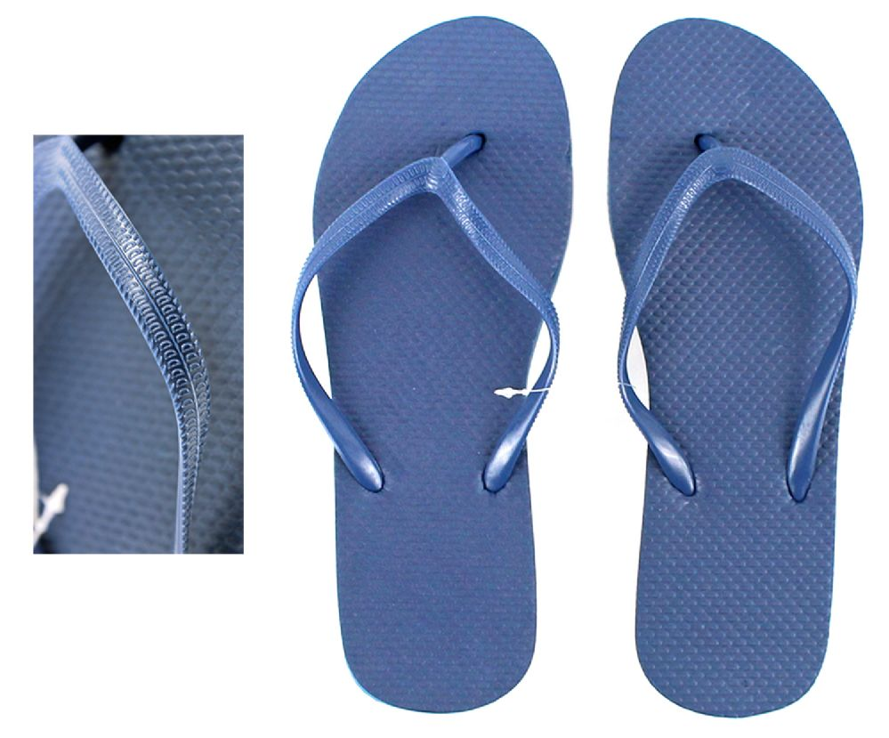 Wholesale Footwear Women's Flip Flops - Navy
