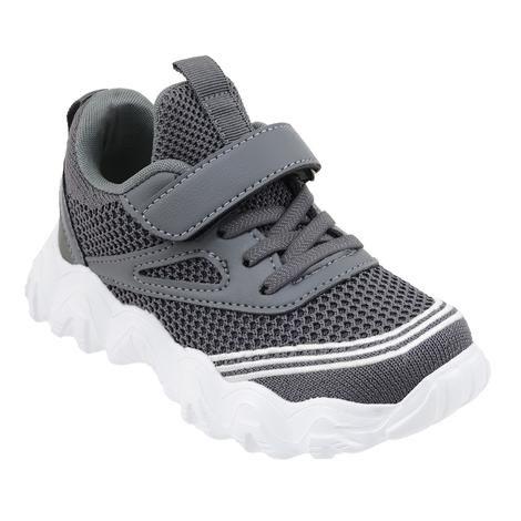 Wholesale Footwear Boys Sneaker Casual Sports Shoe In Gray