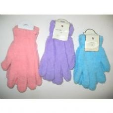 Wholesale Footwear Ladies Fuzzy Gloves