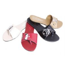 Wholesale Footwear Womans Slide On Sandal Assorted Colors