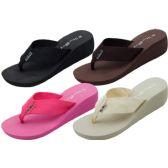 Wholesale Footwear Ladies' Wedge Sandals
