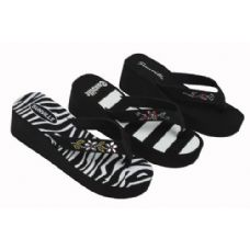 Wholesale Footwear Ladies' Wedge Sandal