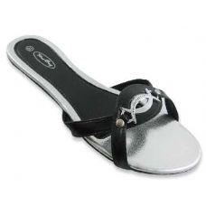 Wholesale Footwear Sterling Buckled Flat Sandals