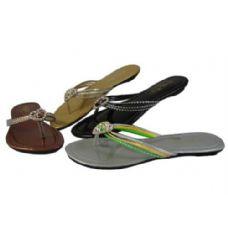 Wholesale Footwear Womans Fashion Flip Flop (Assorted Colors)