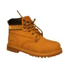 "Wholesale Footwear Men's Genuine Leather Work BootS--5"""