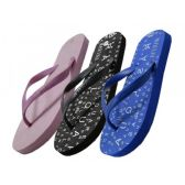 Wholesale Footwear Women's Letter Print In Sole Flip Flop