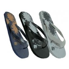 Wholesale Footwear Mens Floral Flip Flop