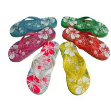 Wholesale Footwear Lady Printed Flip Flop
