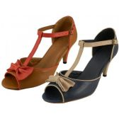 "Wholesale Footwear Women's 3"" Pump With Bow Top"