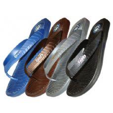 Wholesale Footwear Men's Ridged Sport Thong
