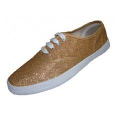 Wholesale Footwear Lady Glitter Shoe