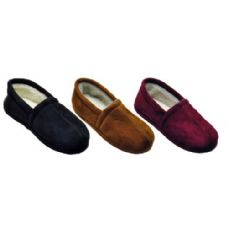 Wholesale Footwear Ladies Sherpa Line Slipper