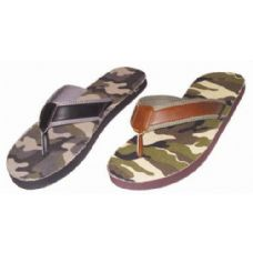 Wholesale Footwear Mens Camo Flip Flop