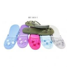 Wholesale Footwear Ladies Slipper Mesh With Beads