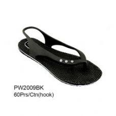 Wholesale Footwear Ladies Fashion Sandals Black