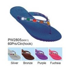 Wholesale Footwear Ladies Fashion Sandals Assorted Colors