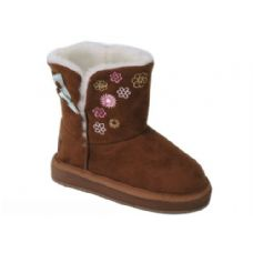 Wholesale Footwear Girls Boots Camel Color