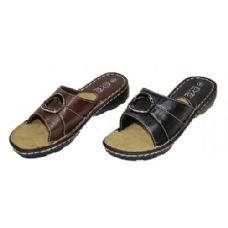 Wholesale Footwear Leadies Leather Sandals